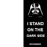 i stand on the dark side -#main