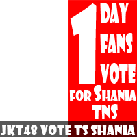Vote Shania For TnS