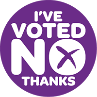 I've voted No Thanks