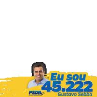 Gustavo Sebba #aforçadonovo