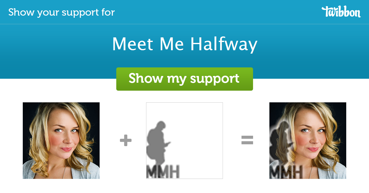 Meet Me Halfway - Support Campaign | Twibbon