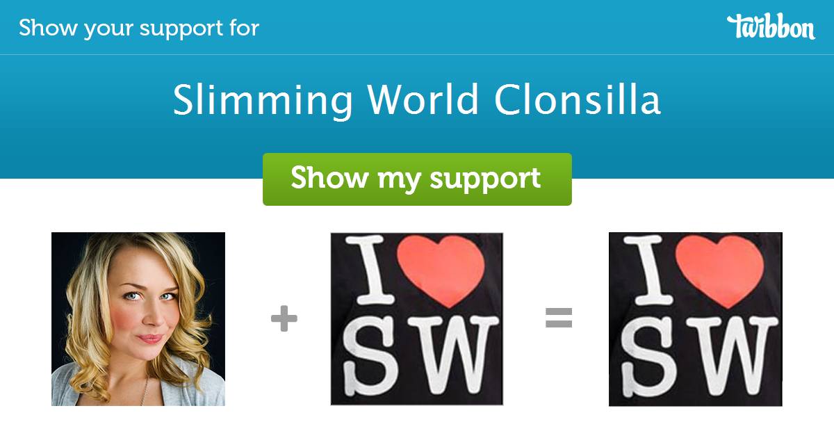 Slimming World Clonsilla Support Campaign Twibbon
