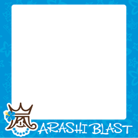 ARASHI BLAST  in Hawaii Blue