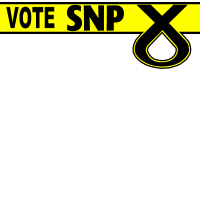 Vote SNP - Top banner
