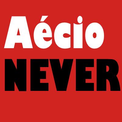 Aécio NEVER