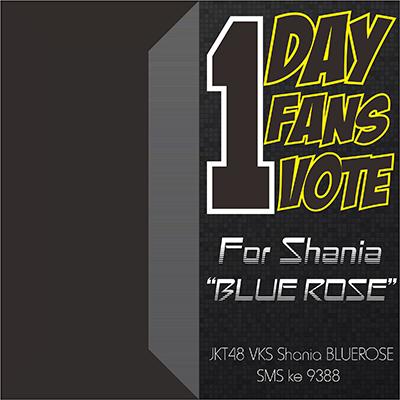 Shania for Blue Rose