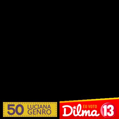 Luciana 50 e agora Dilma 13