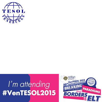 I'm attending #VenTESOL2015