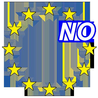 No EU #VoteNoEU in the UK Referendum