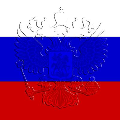 Флаг России (прозрачный) №3