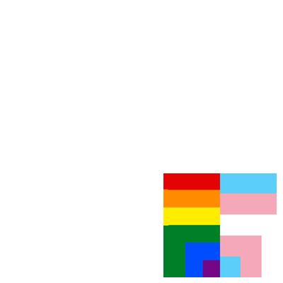 Rainbow + Trans Pride Heart