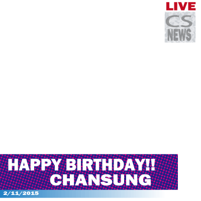 Chansung's Birthdey