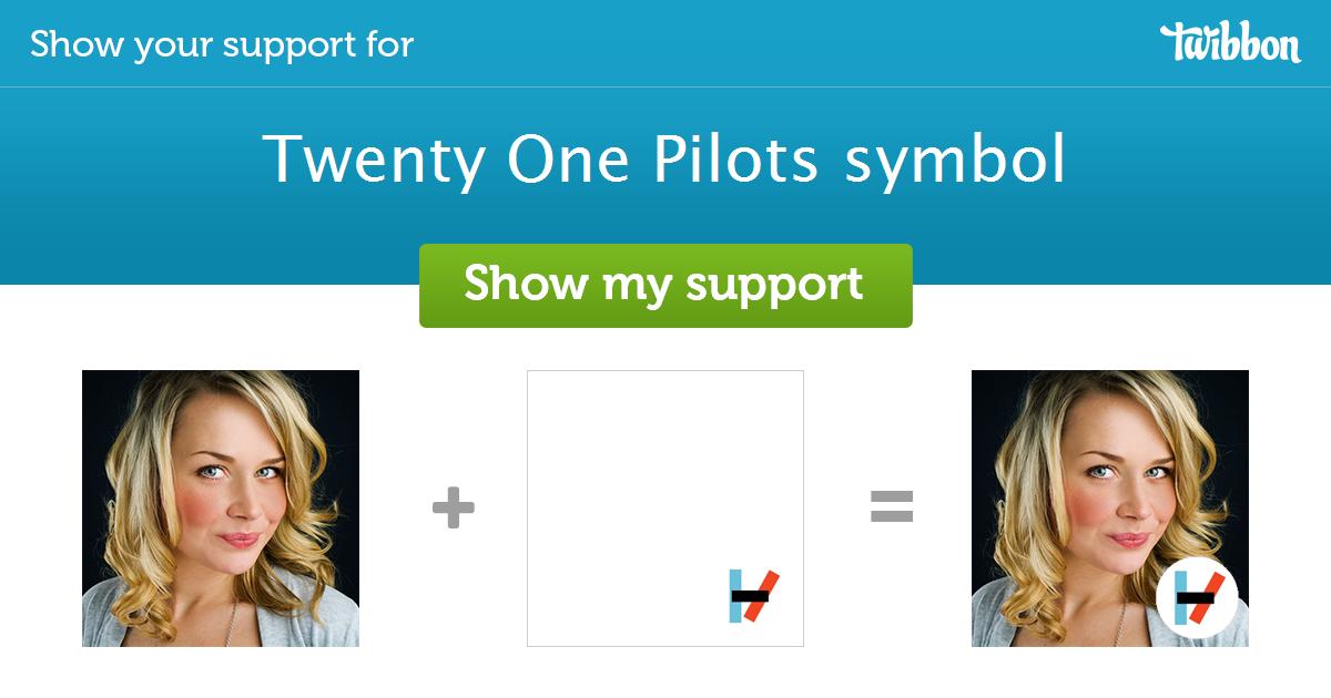 Twenty One Pilots Symbol Support Campaign Twibbon