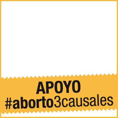 Apoyo #aborto3causales
