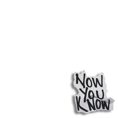 NOW YOU KNOW By Jonah Green