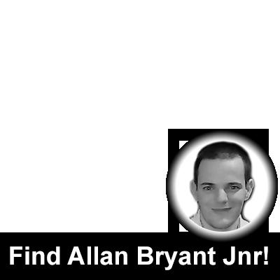 Find Allan Bryant Jnr!