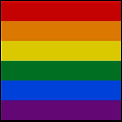 lgbtq pride flag filter - Support Campaign | Twibbon