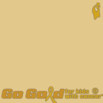 #GoGold for Childhood Cancer
