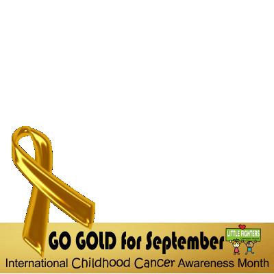 go gold for childhood cancer support campaign on twitter twibbon. Black Bedroom Furniture Sets. Home Design Ideas