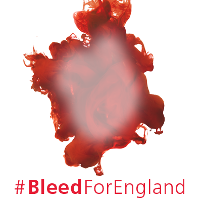 #BleedForEngland