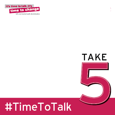 Take 5 on Time to Talk Day