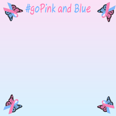 Pink and Blue for October