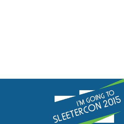 I'm going to SleeterCon 2015