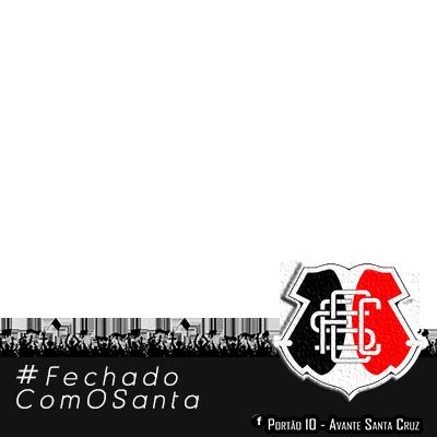 #FechadoComOSanta