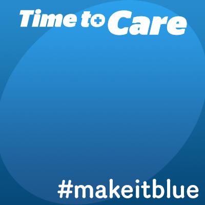 Time to Care - #makeitblue