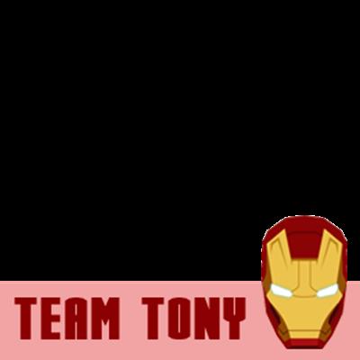 I'm TEAM TONY