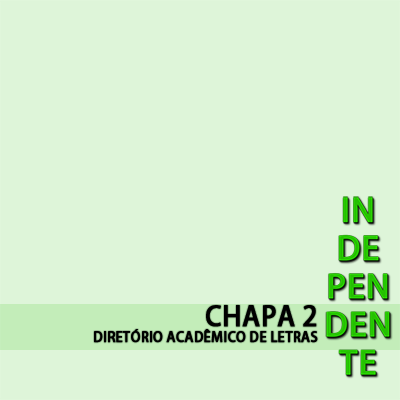 Independente - Chapa 2
