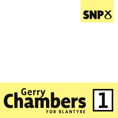 Gerry Chambers for Blantyre