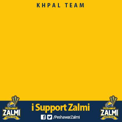 i Support Peshawar Zalmi