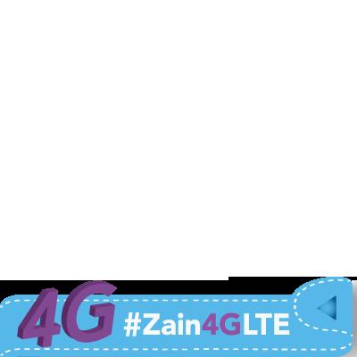 #Zain4GLTE