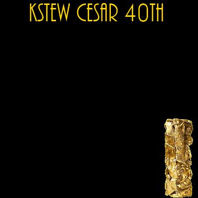 KSTEW CESAR 40TH