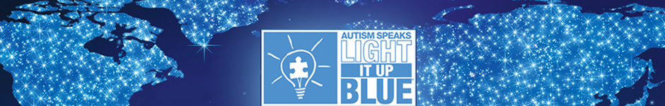 Autism Speaks Light It Up Blue Color