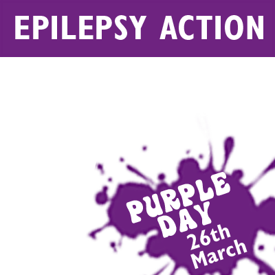 Epilepsy Action Purple Day (March 26th)