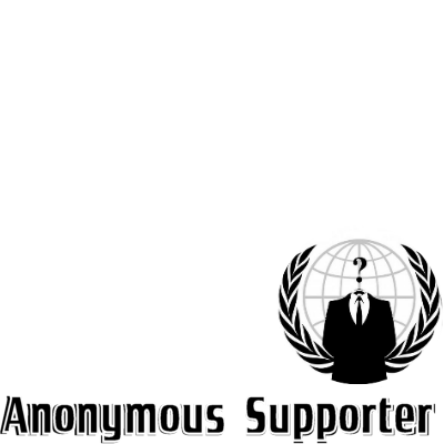Anonymous supporter