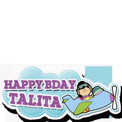 #HappyBdayTalita