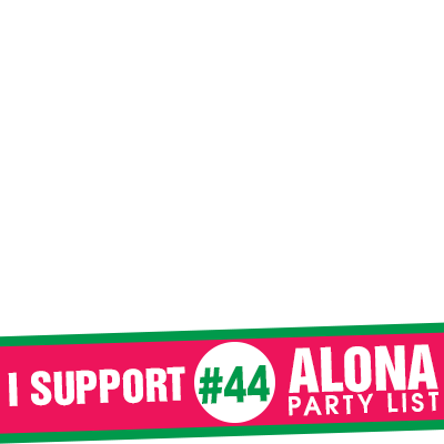 I support Alona Partylist
