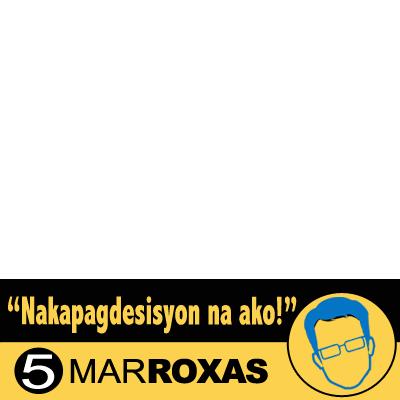 I support Mar Roxas!