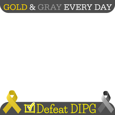 Gold & Gray Every Day - DIPG