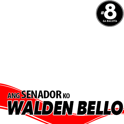 Walden Bello sa Senado