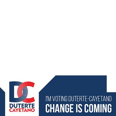 I'm Voting DUTERTE-CAYETANO!