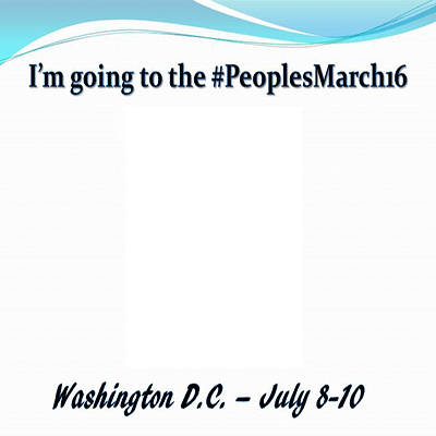 #PeoplesMarch16