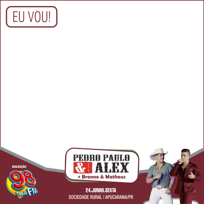 Show com Pedro Paulo & Alex