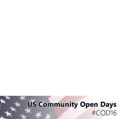 US Community Open Days 2016
