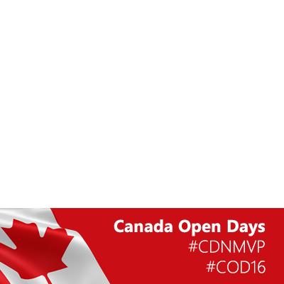 Canada Open Days 2016