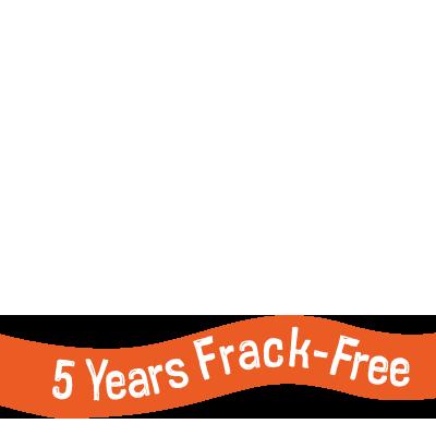 5 Years Frack Free