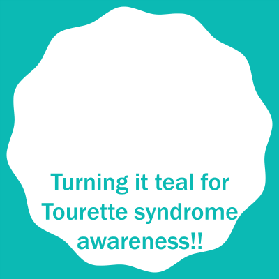 Turning it teal for Tourette